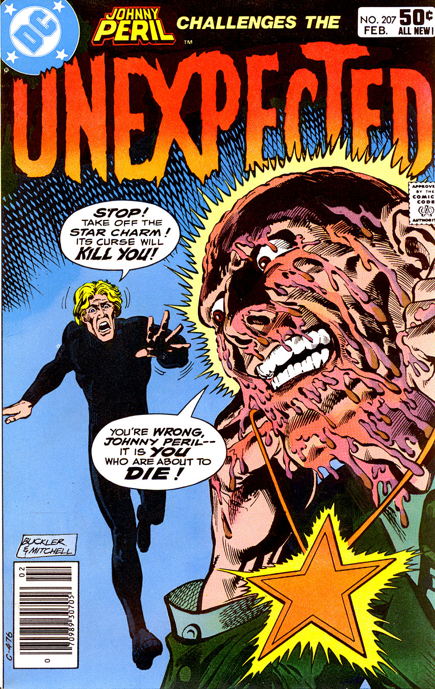 Unexpected (1968) #207, cover penciled by Rich Buckler & inked by Steve Mitchell.