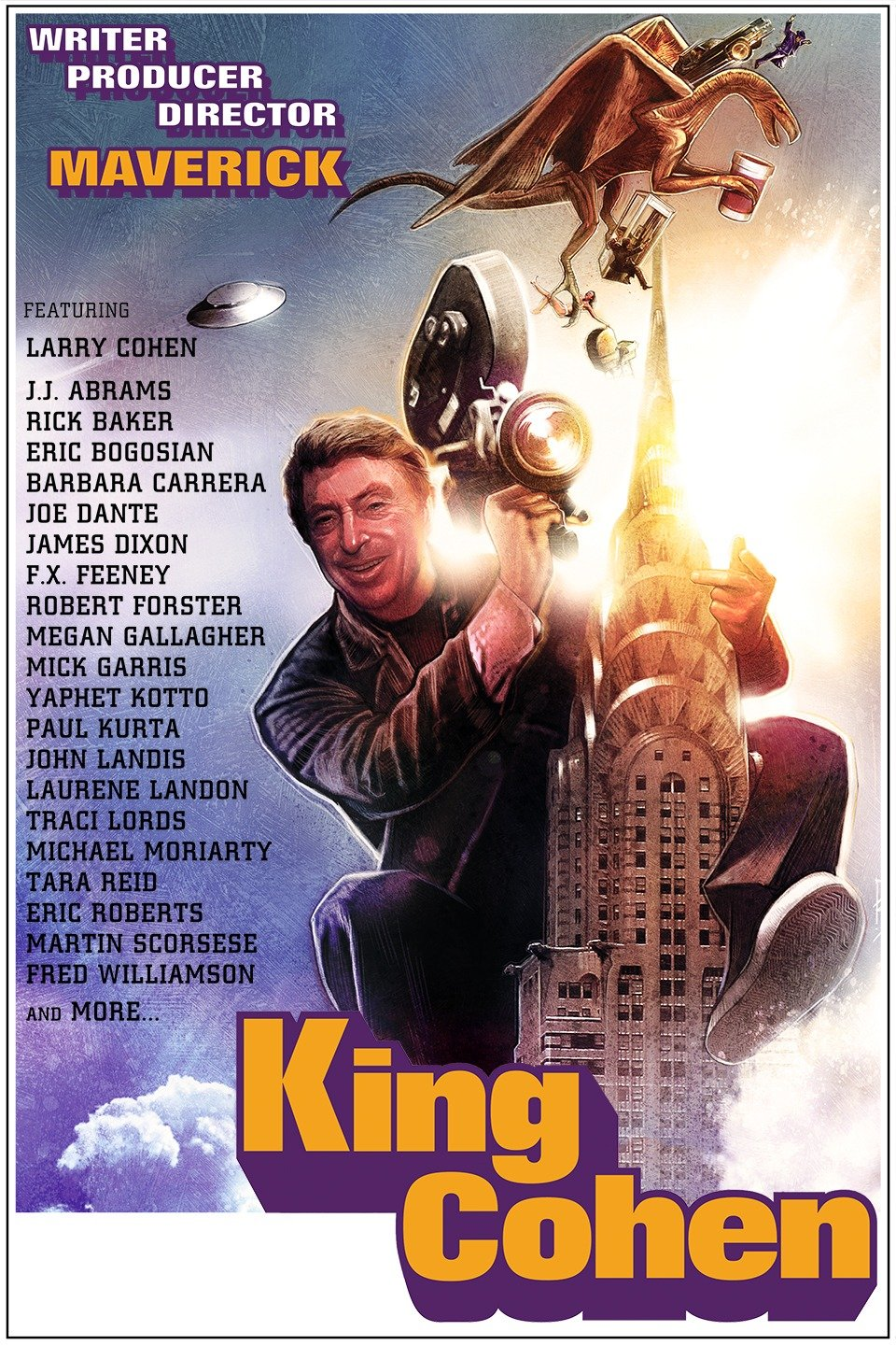 King Cohen   movie poster.