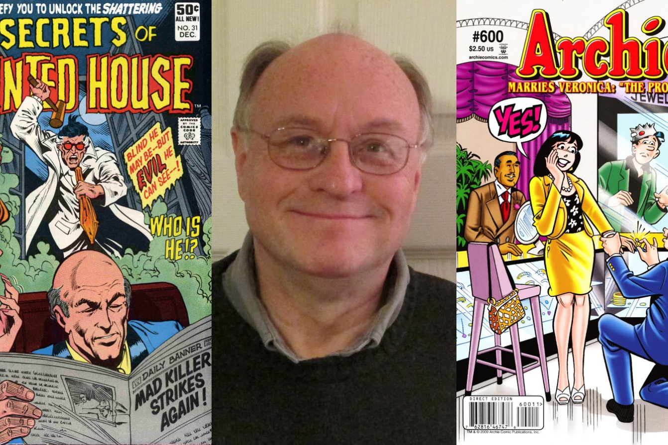 An Interview With Bob Smith - Longtime Inker for DC & Archie Comics   Written by Bryan Stroud