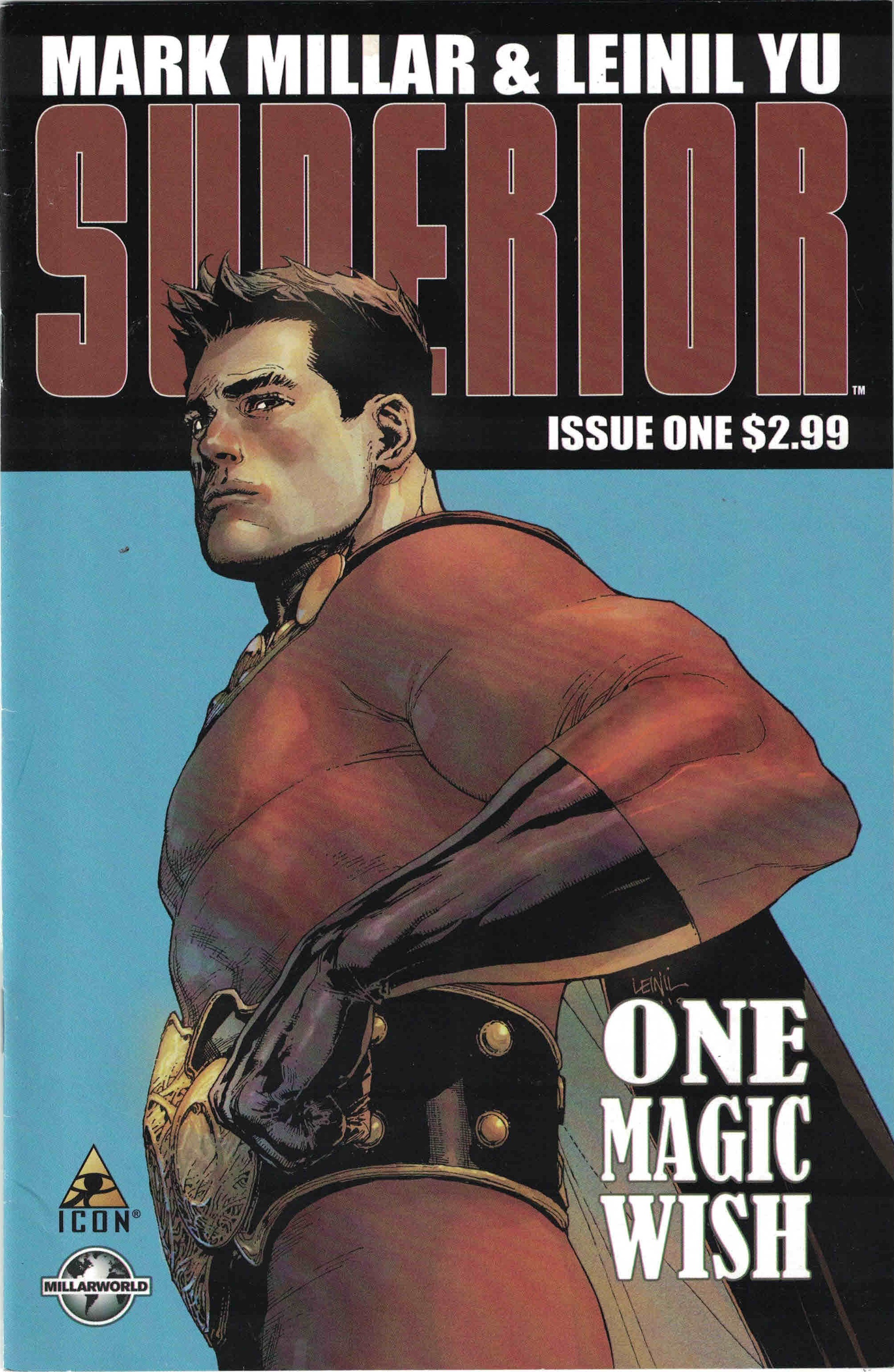 Cover of Superior #1.
