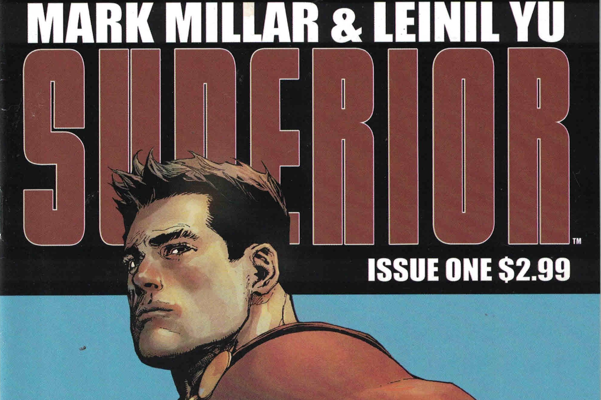 Mark Millar's Moral Superior-ity - A Review of Superior (story by Mark Millar, art by Leinil Yu)   Written by O'Brian Gunn