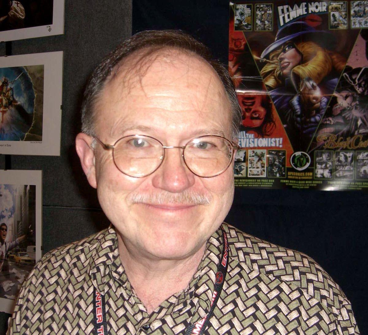 Joe Staton at NYCC 2008.