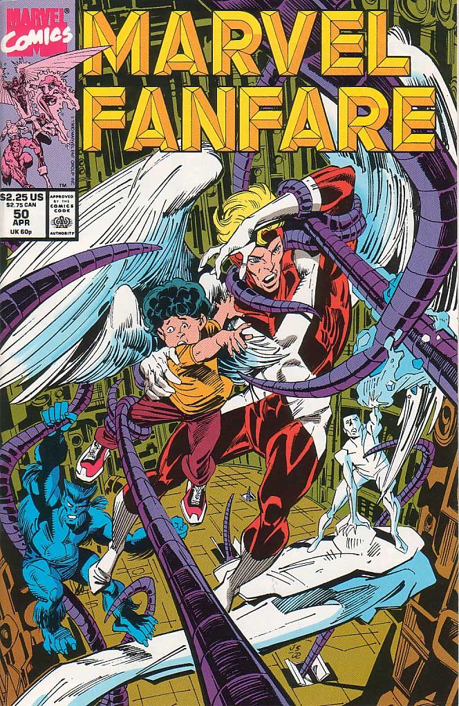 Marvel Fanfare (1982) #50, cover penciled by Joe Staton & inked by Joe Rubinstein.