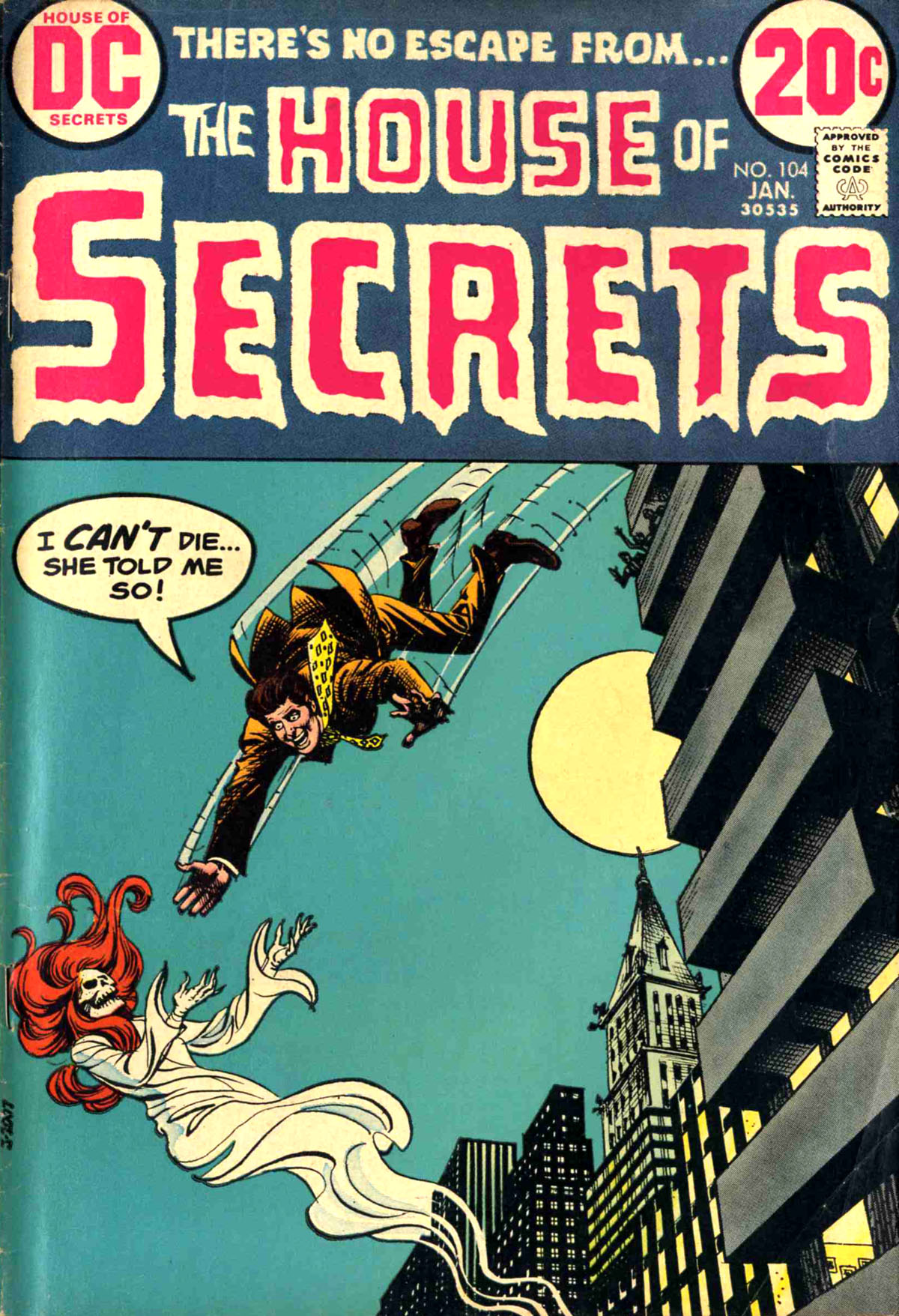 House of Secrets (1956) #104, cover by Nick Cardy.