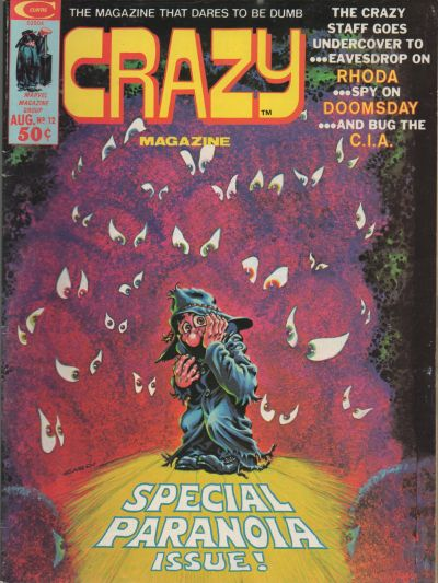 Crazy Vol.3 (1973) #12, cover by Nick Cardy.