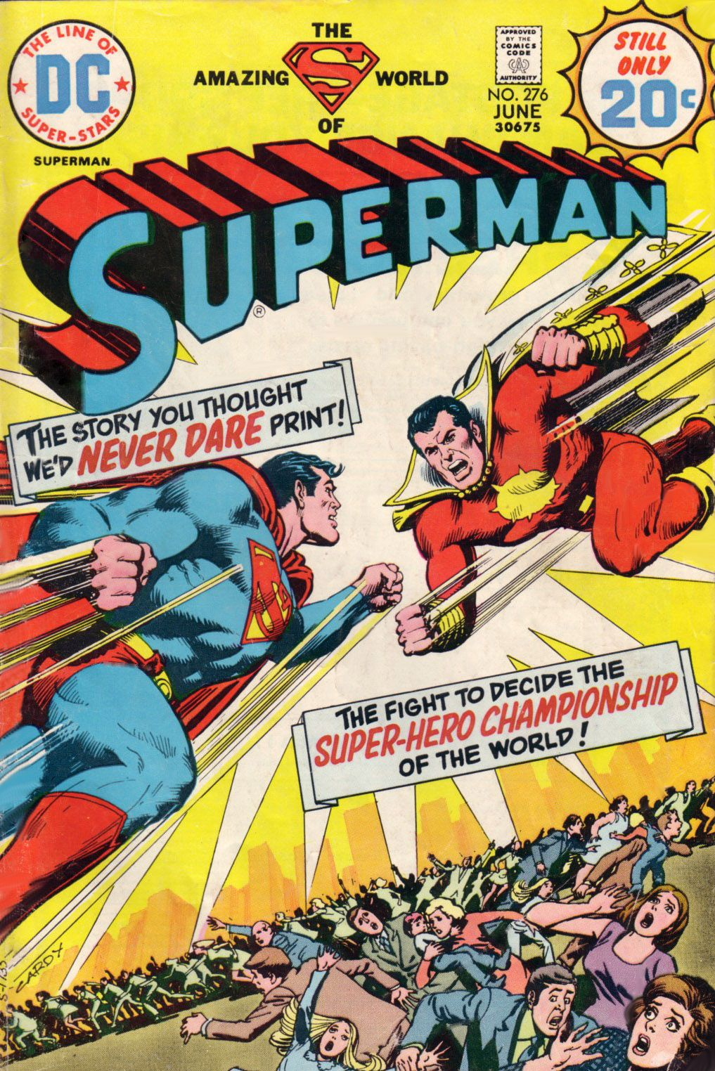 Superman (1939) #276, cover by Nick Cardy.