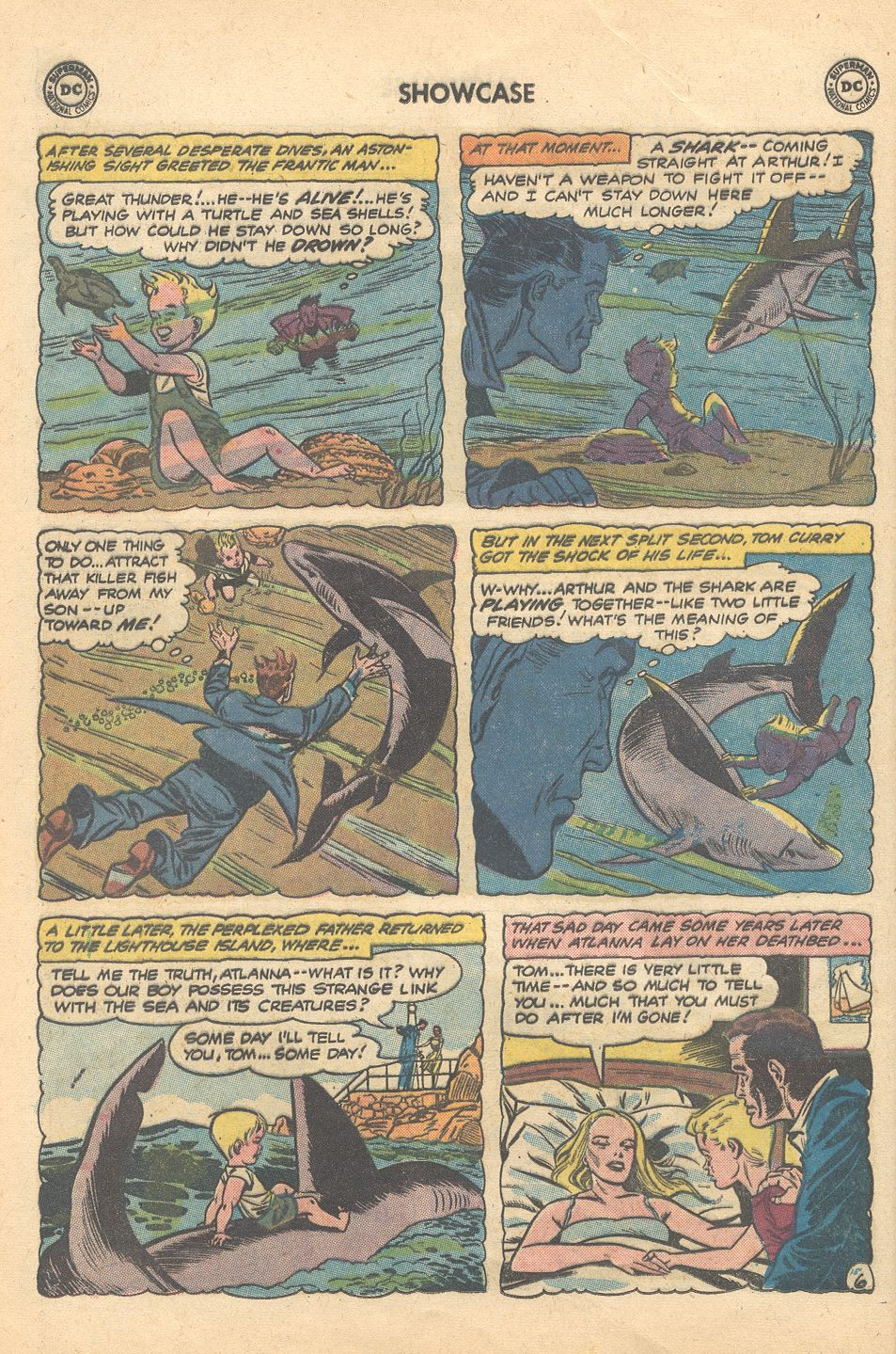 Showcase (1956) #30 pg6, art by Ramona Fradon.