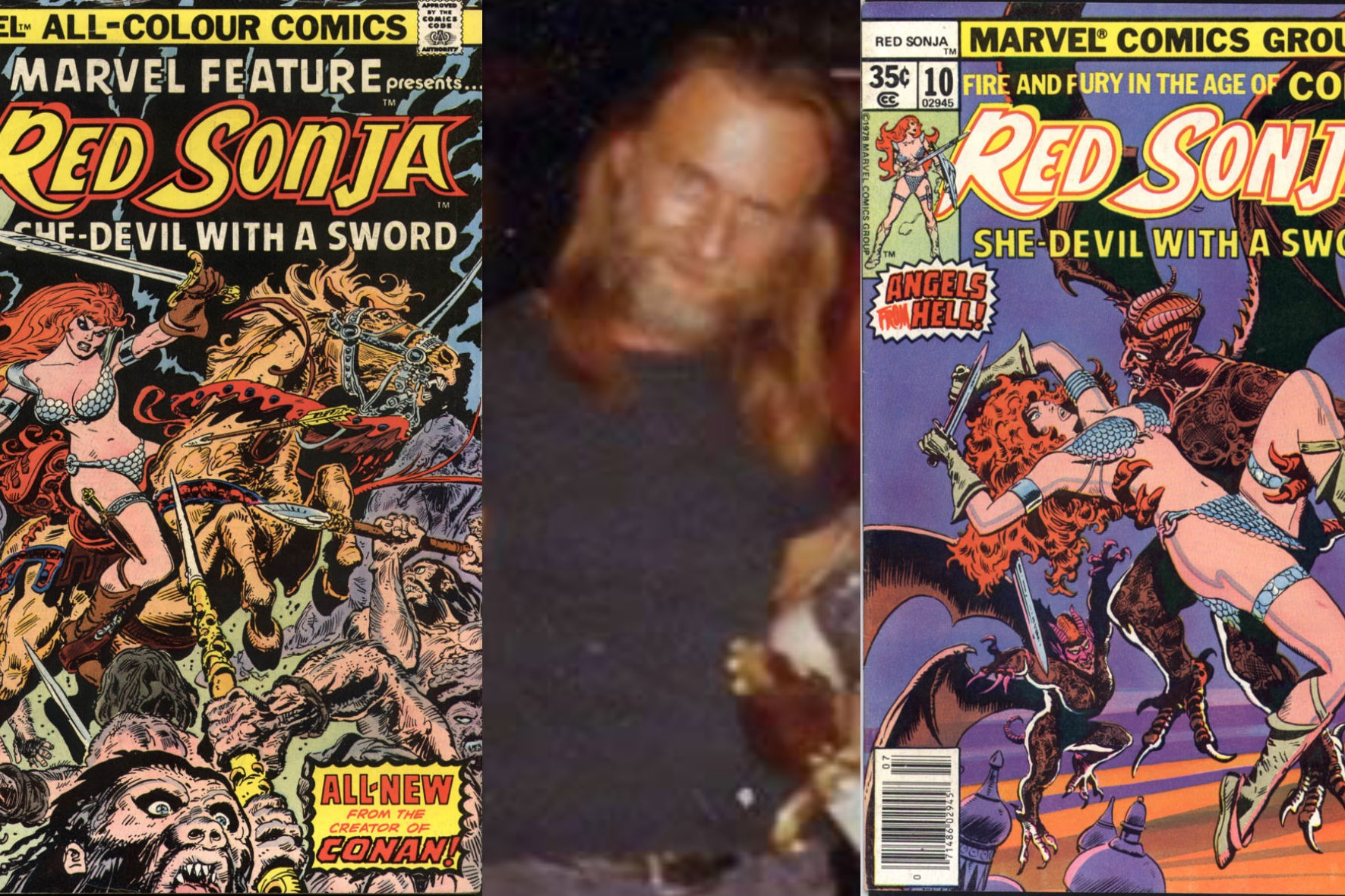 An Interview With Frank Thorne - Red Sonja Artist & Wizard at Large   wRITTEN BY bRYAN sTROUD