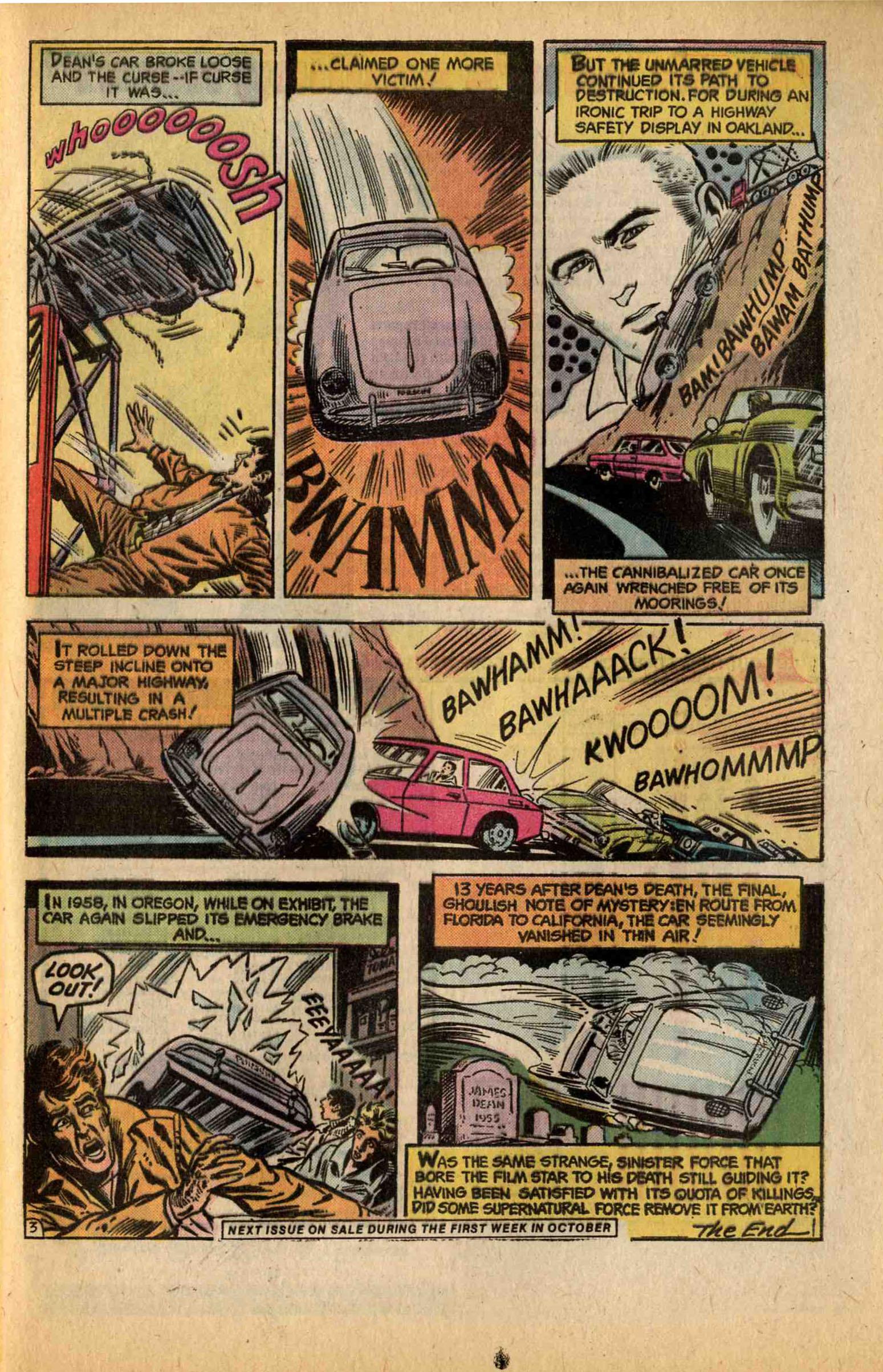 Ghosts (1971) #44 pg30, art by John Calnan.