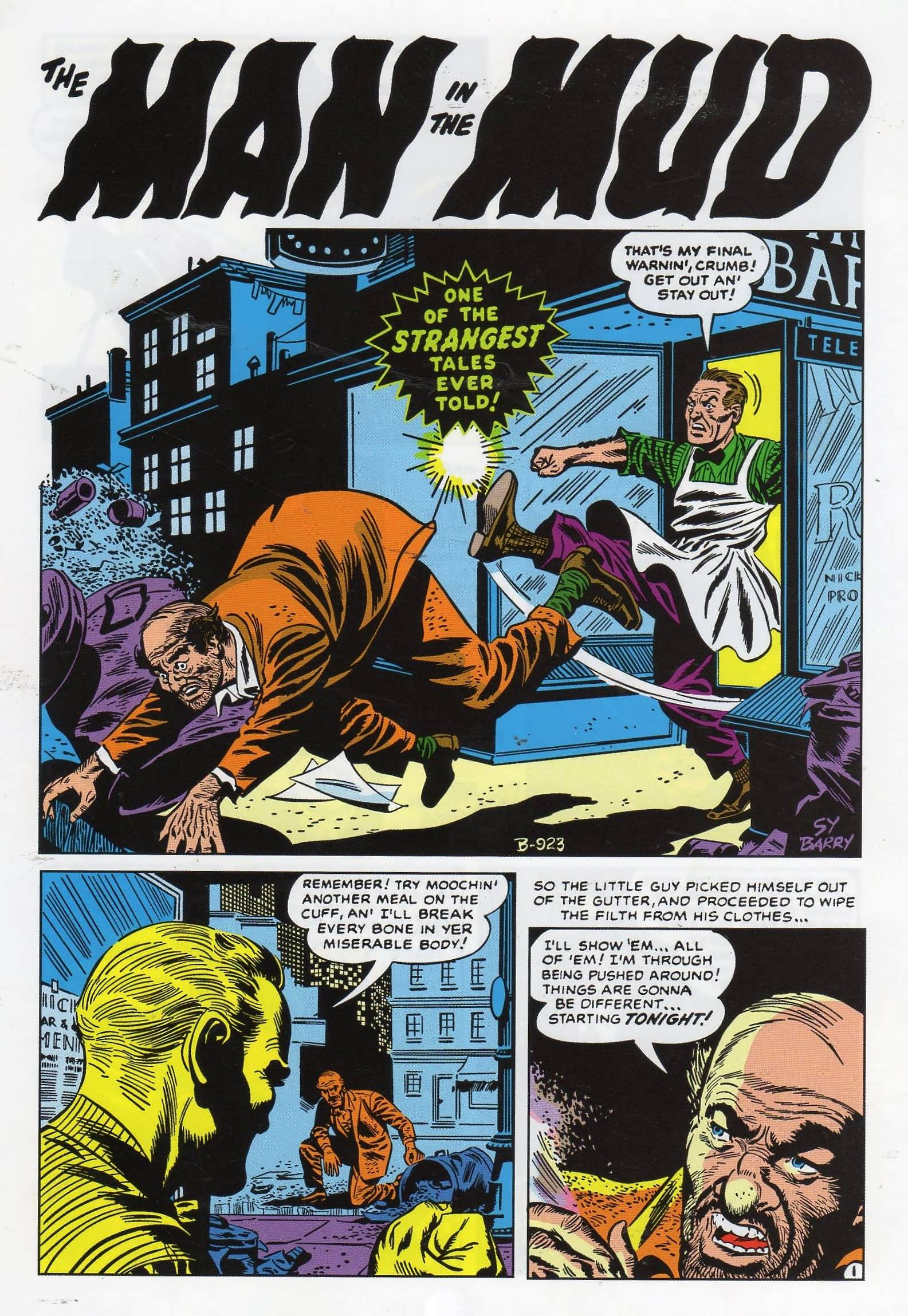 Strange Tales (1951) #16 pg9, art by Sy Barry.