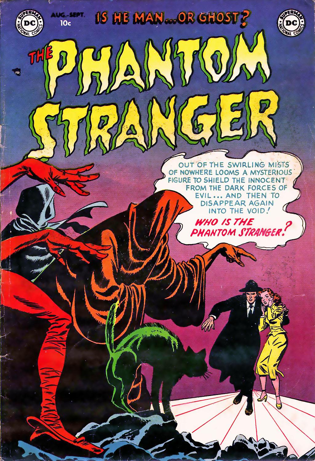 The Phantom Stranger (1952) #1 Carmine Infantino Sy Barry