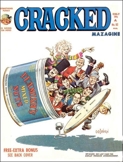 Cracked (1958) #62, cover by John Severin.