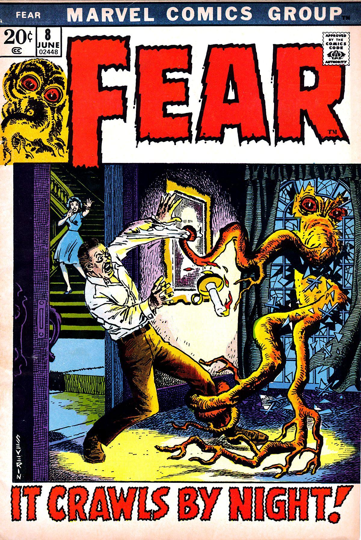 Fear (1970) #8, cover by John Severin.