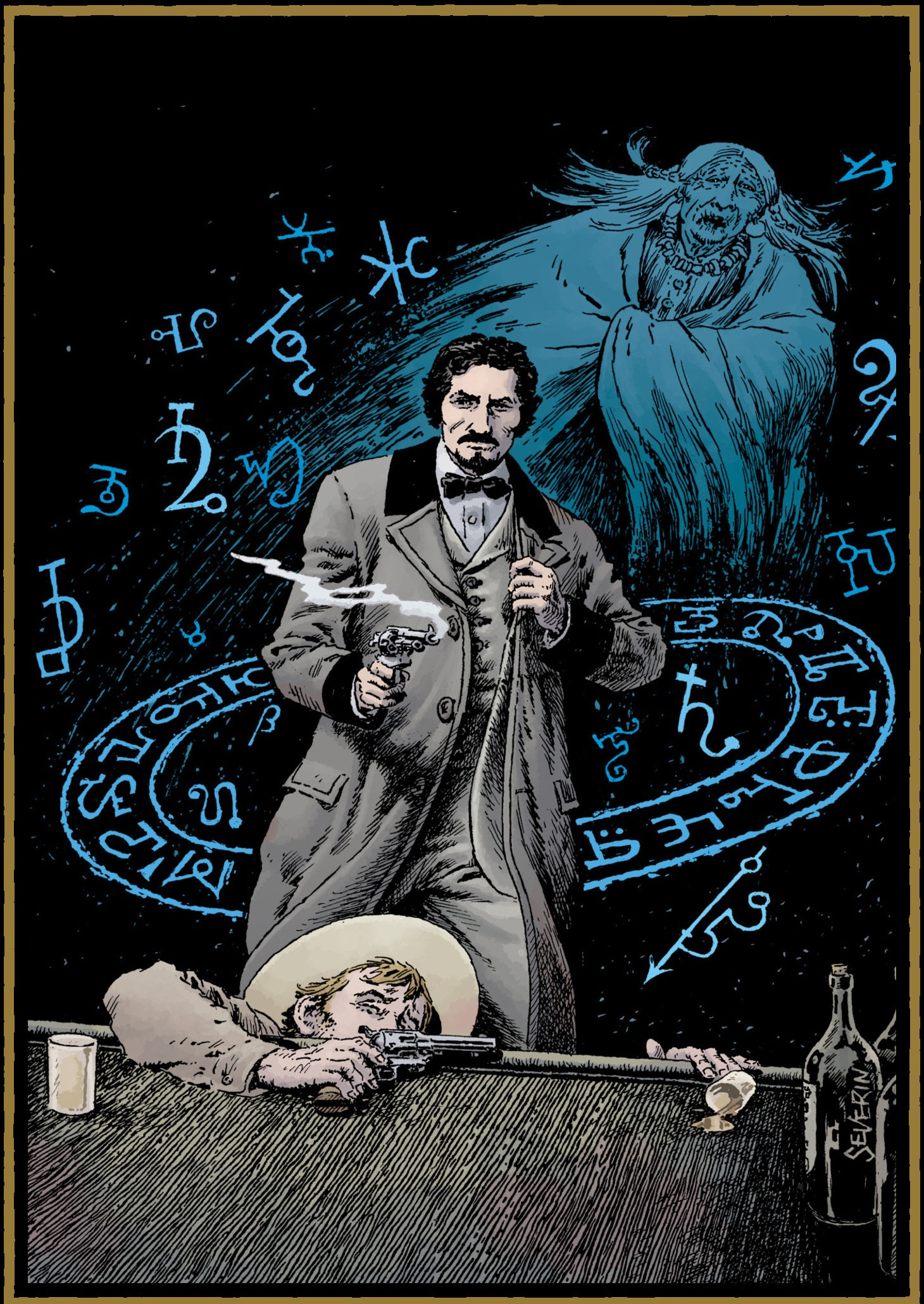 Witchfinder_ Lost and Gone Forever (2011) #1, cover art by John Severin.