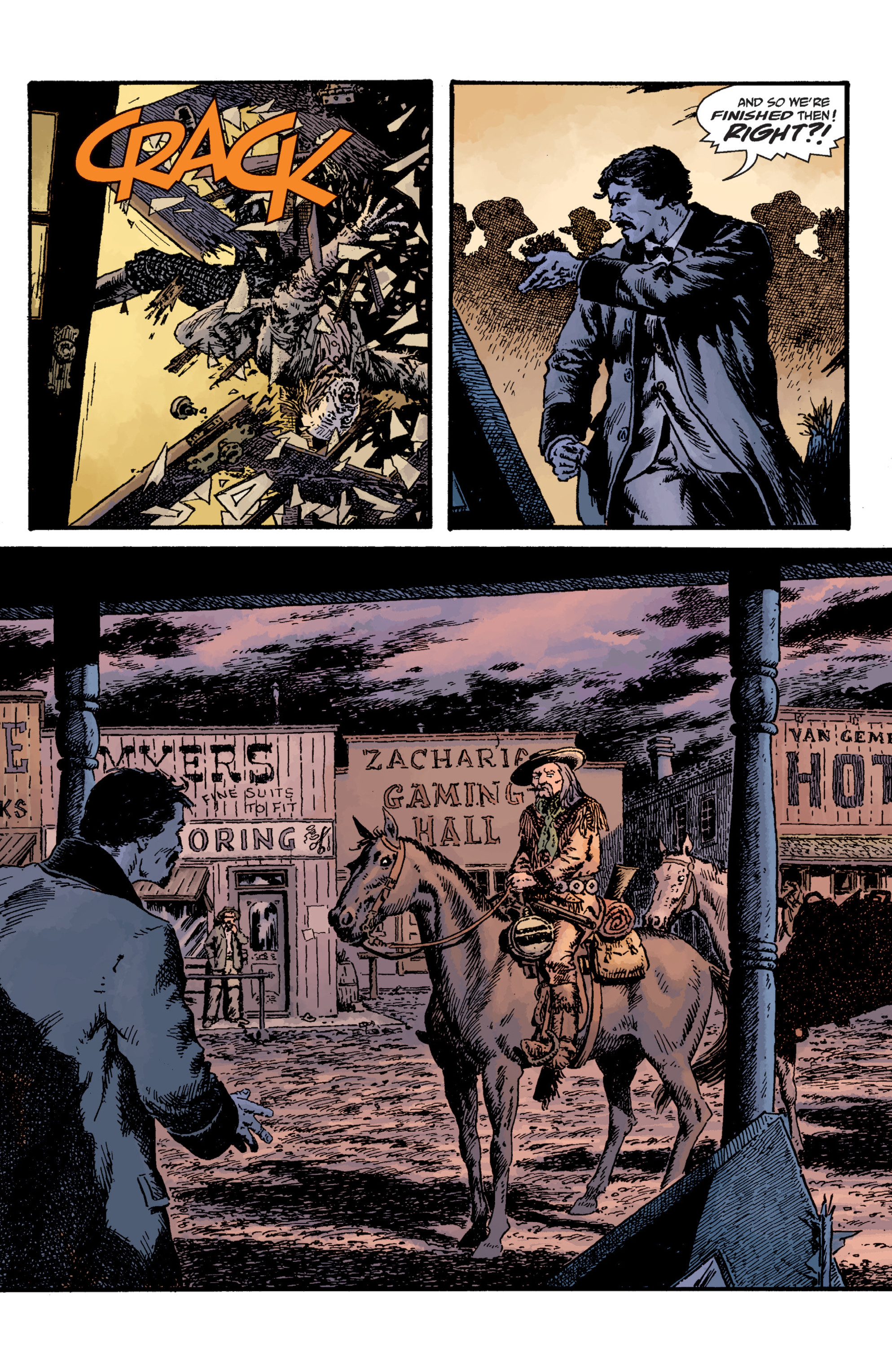 Witchfinder: Lost and Gone Forever (2011) #1 pg16, art by John Severin.