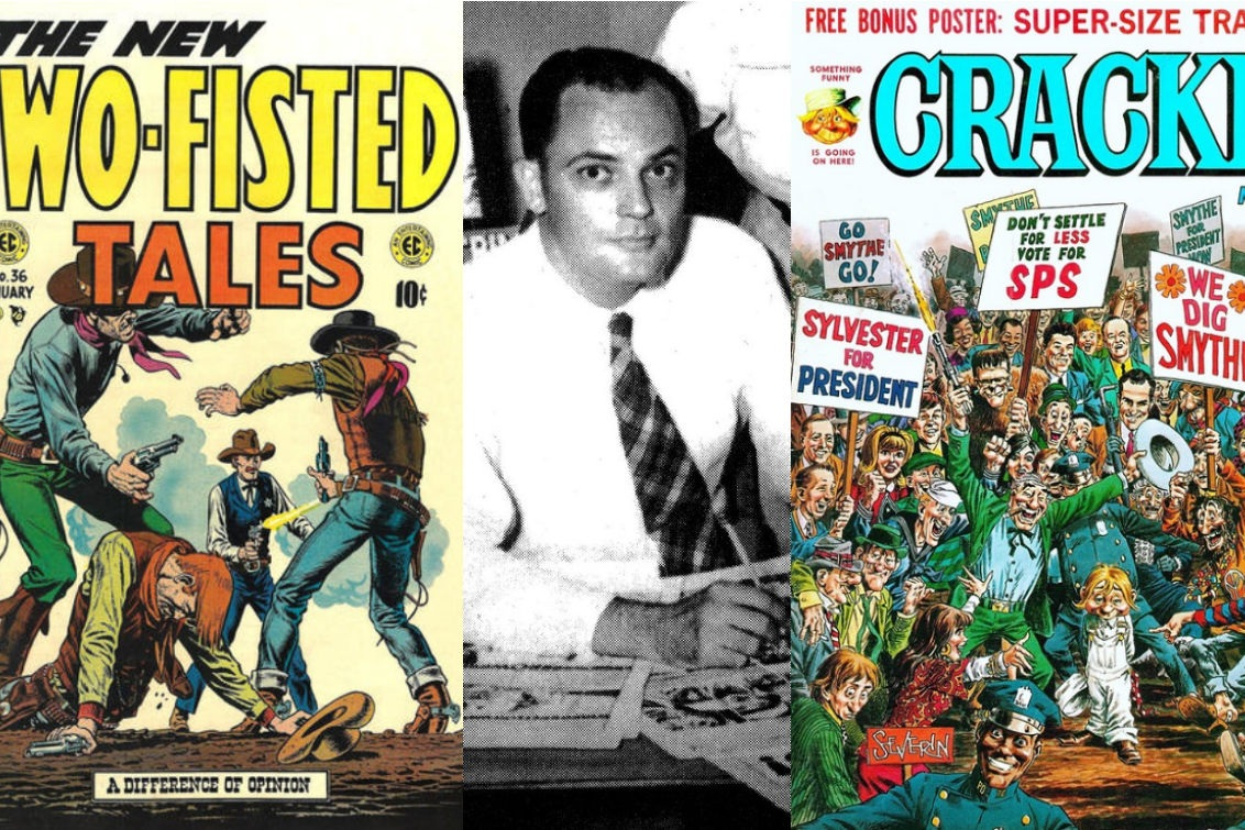 An Interview With John Severin - A Master of Humor & Horror, Westerns & War   Written by Bryan Stroud