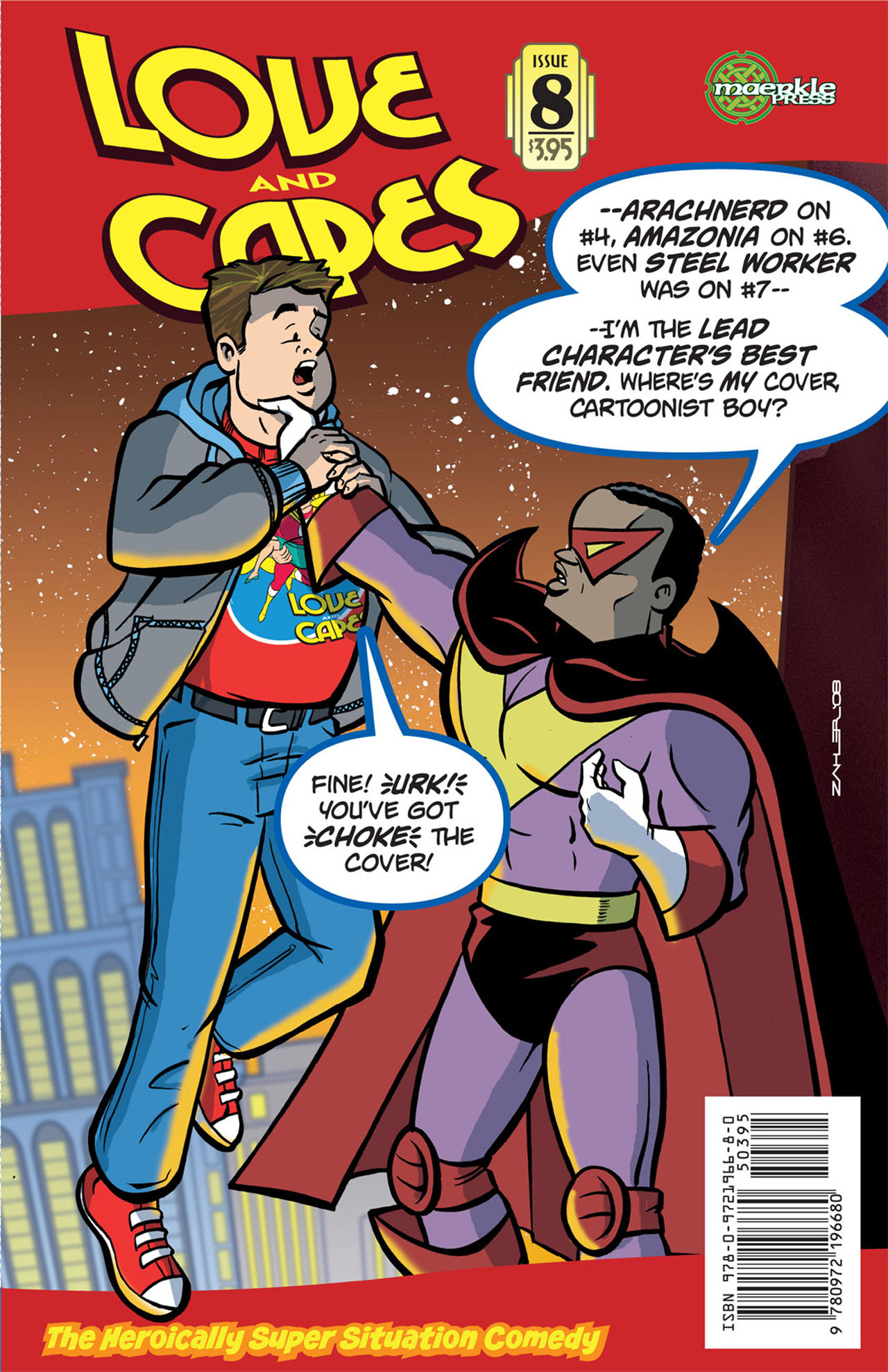 Love and Capes (2006) #8 by Thom Zahler.