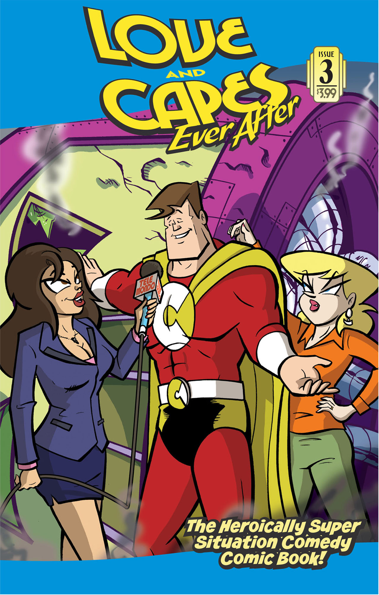Love and Capes: Ever After (2011) #3 by Thom Zahler.