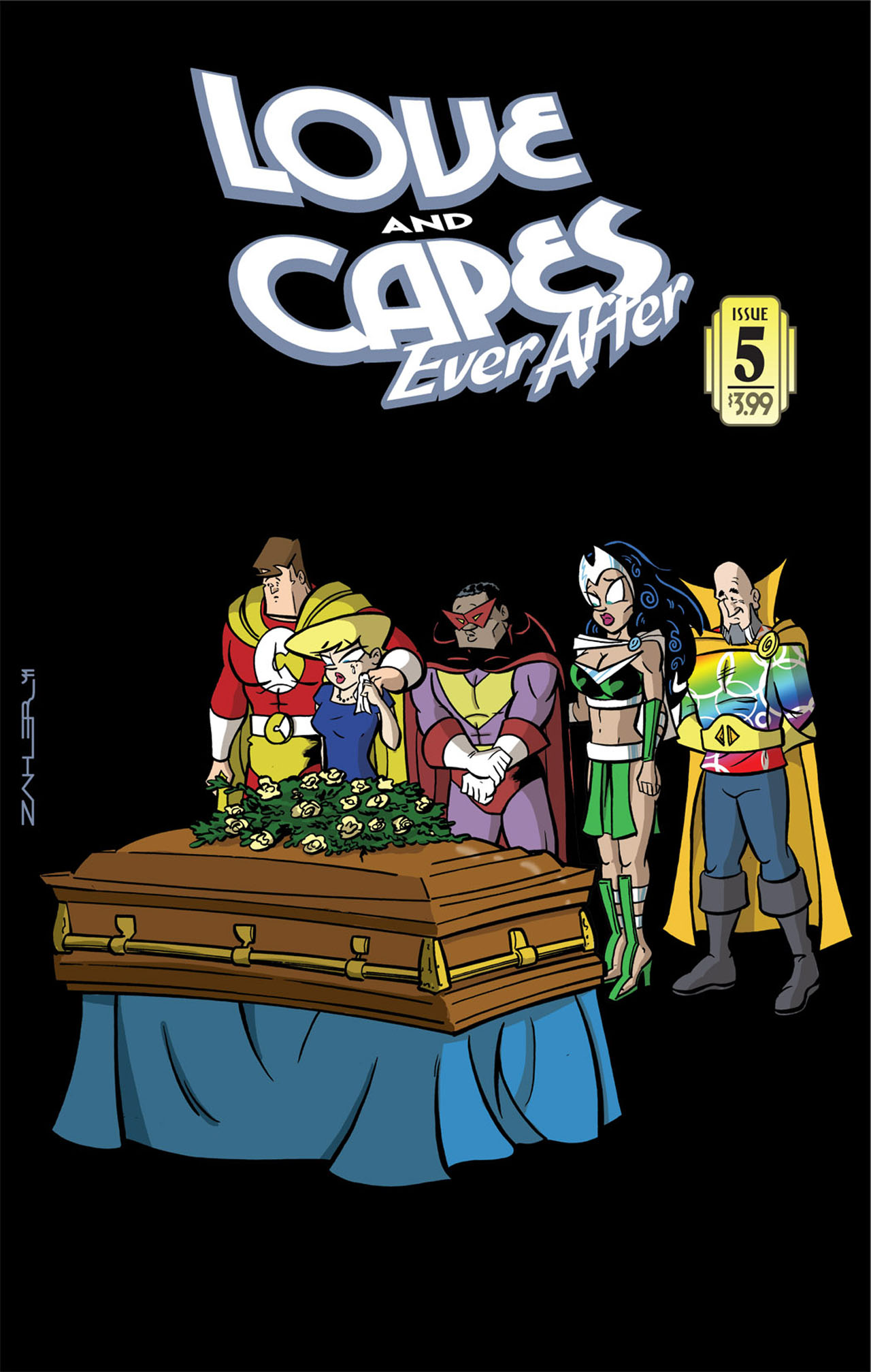 Love and Capes: Ever After (2011) #5 by Thom Zahler.