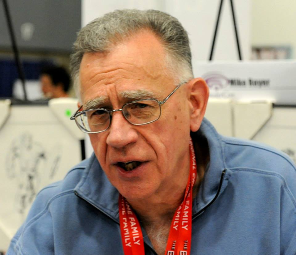 Mike Royer at WonderCon 2014.