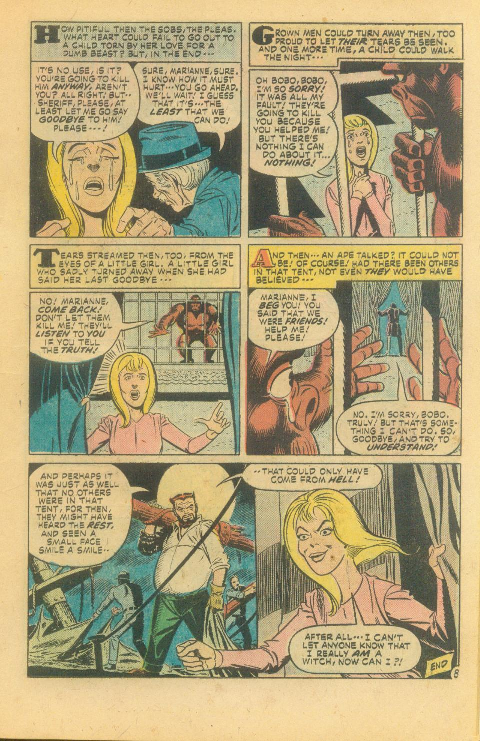 House of Secrets (1956) #139 pg8, penciled by Steve Ditko & inked by Mike Royer.