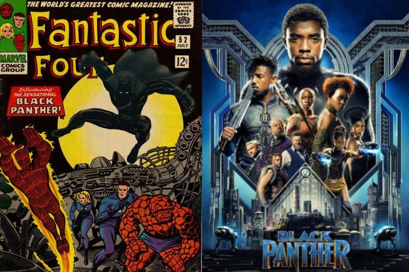 BLACK PANTHER (2018) - A SPOILER FREE REVIEW   WRITTEN BY PATRICK FITZ-GERALD, ESQ.