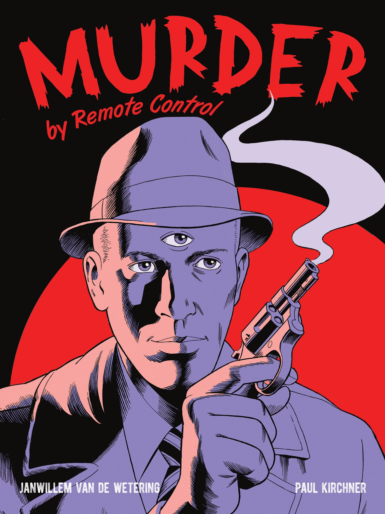 Murder by Remote Control TPB (2016), cover by Paul Kirchner.