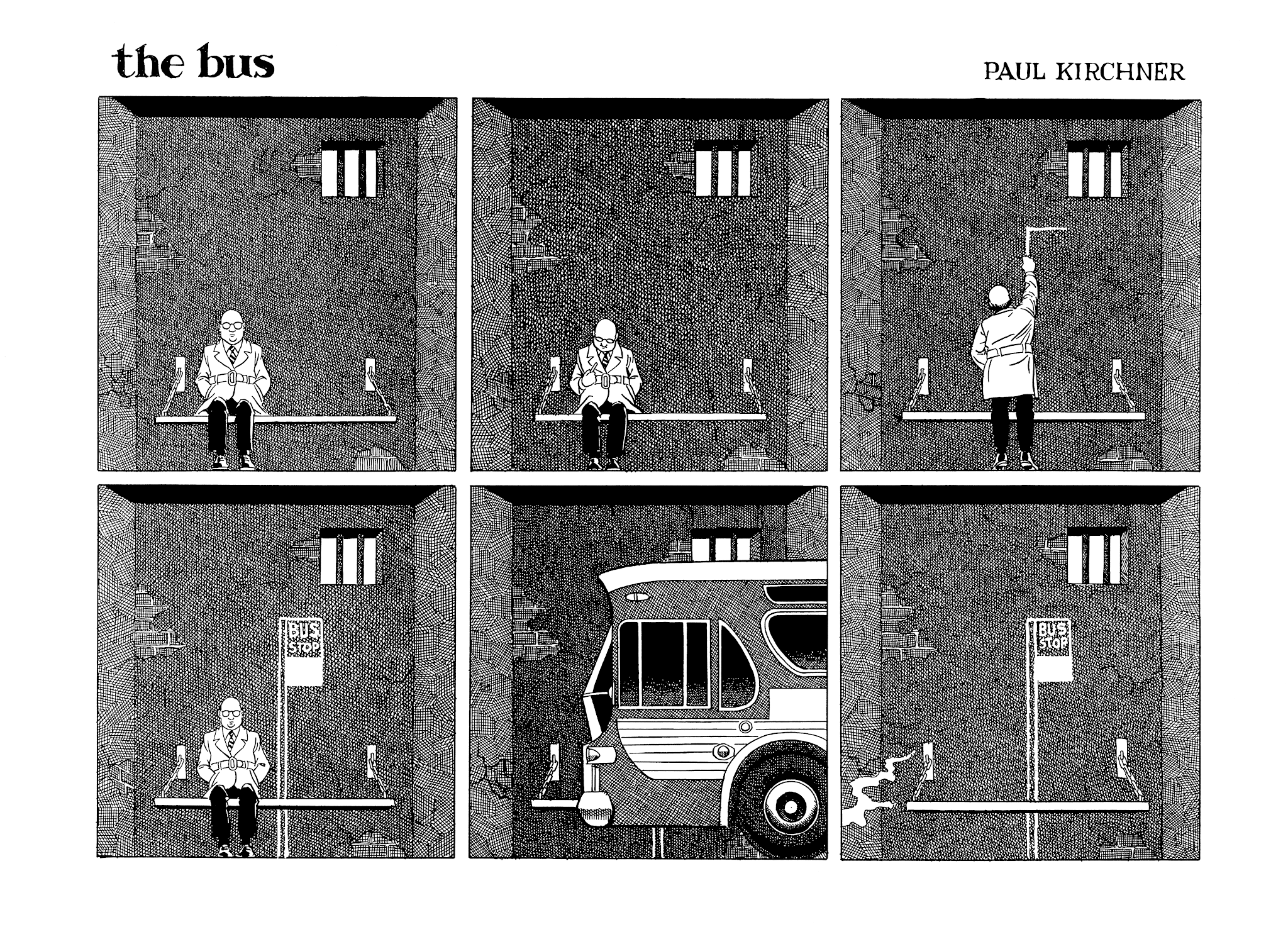 the bus (1979) #43 by Paul Kirchner.
