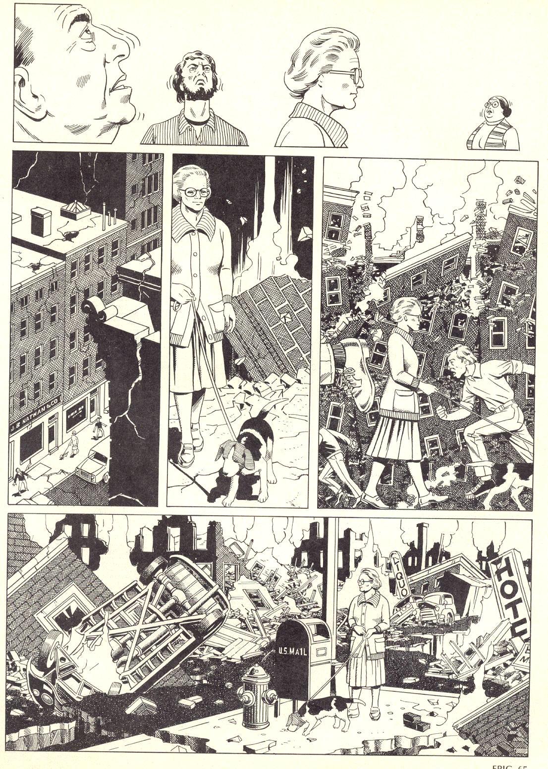 Epic Illustrated (1980) #4 Survivors pg2.