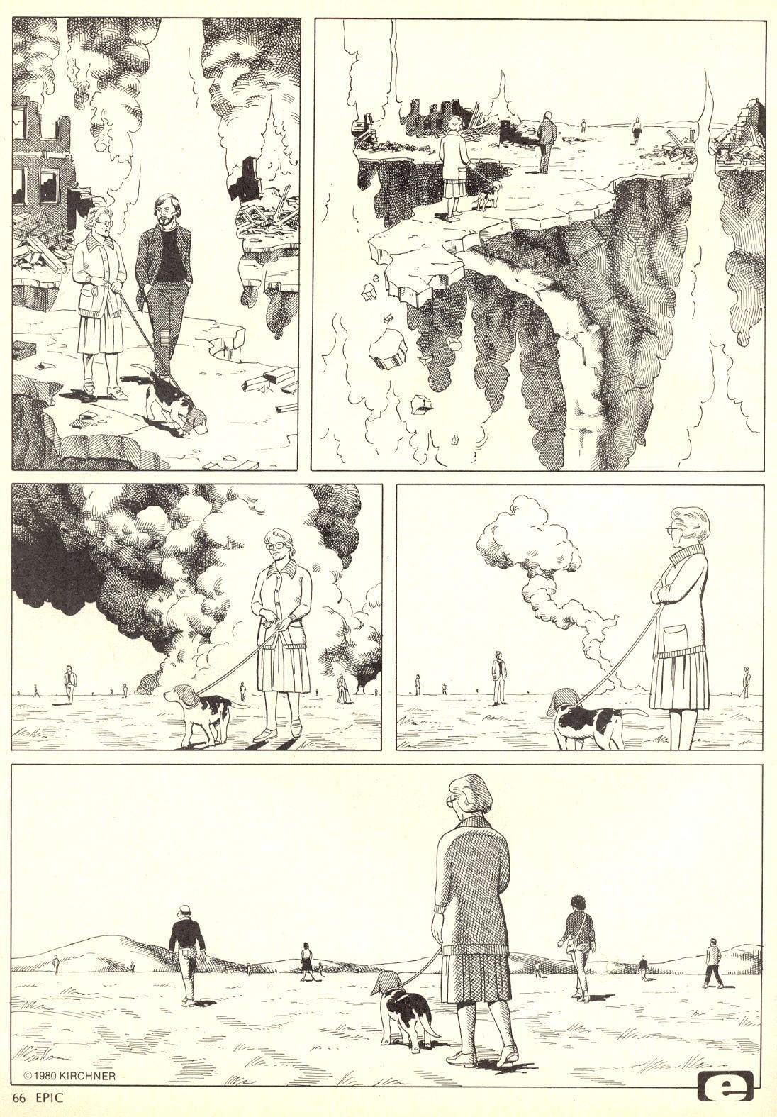 Epic Illustrated (1980) #4 Survivors pg3.