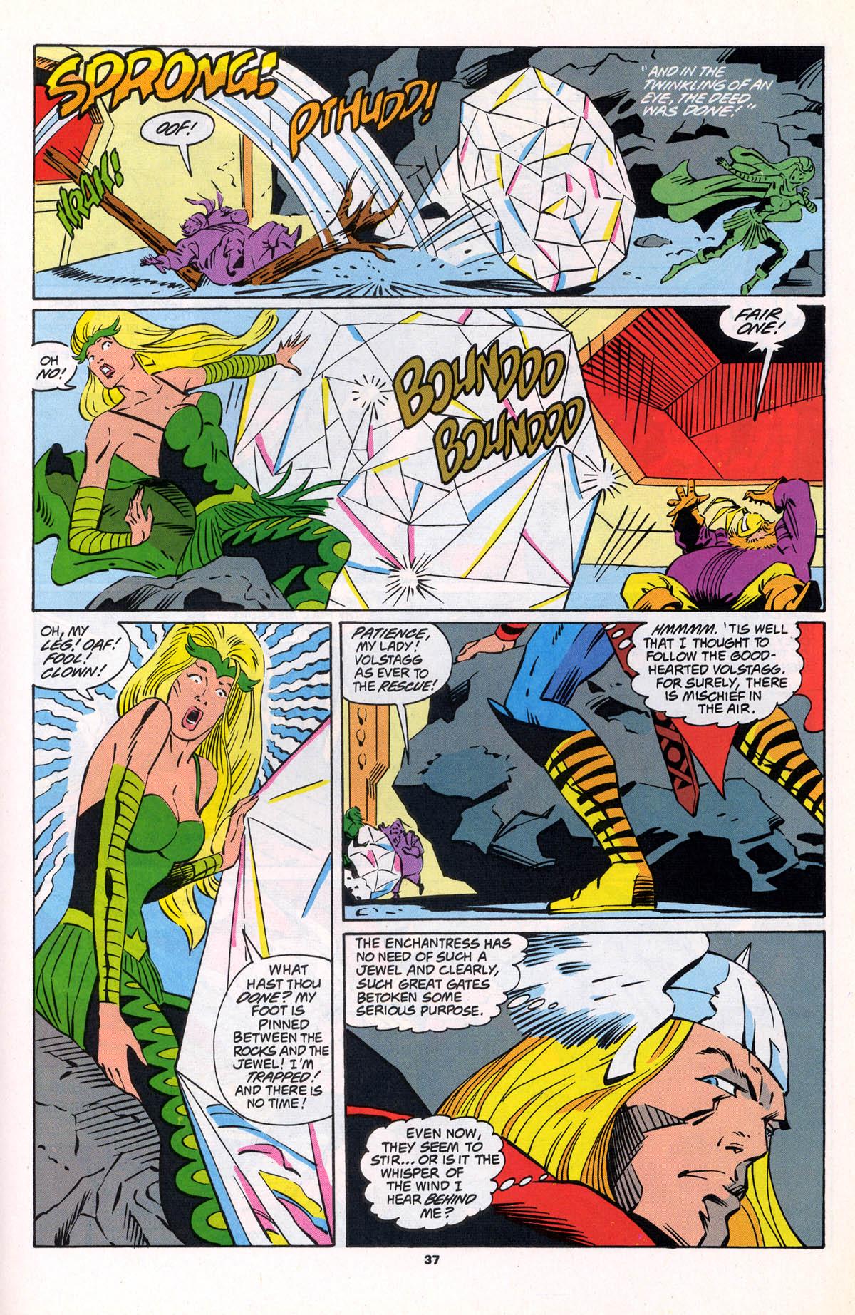 Marvel Super Heroes (1990) #15 pg 37, penciled by Joe Barney & inked by Frank Turner.
