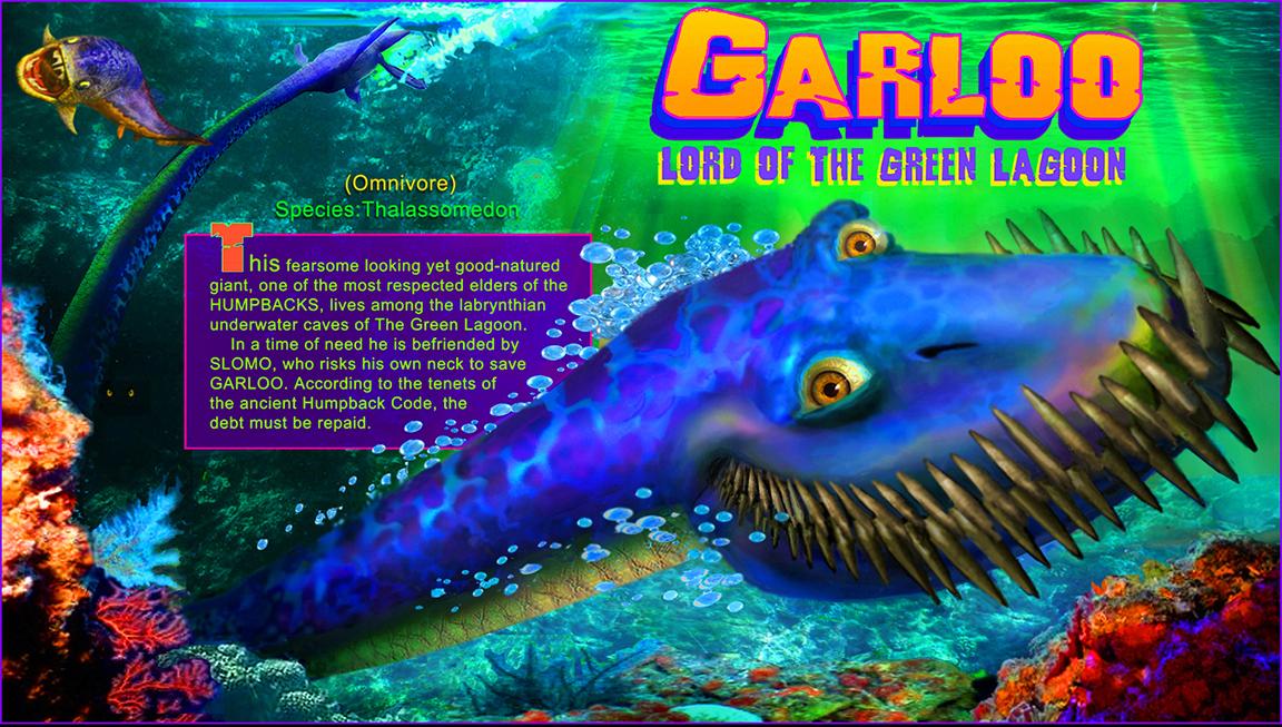 Garloo from  Saur Heads  by Cary Bates & Joe Barney.