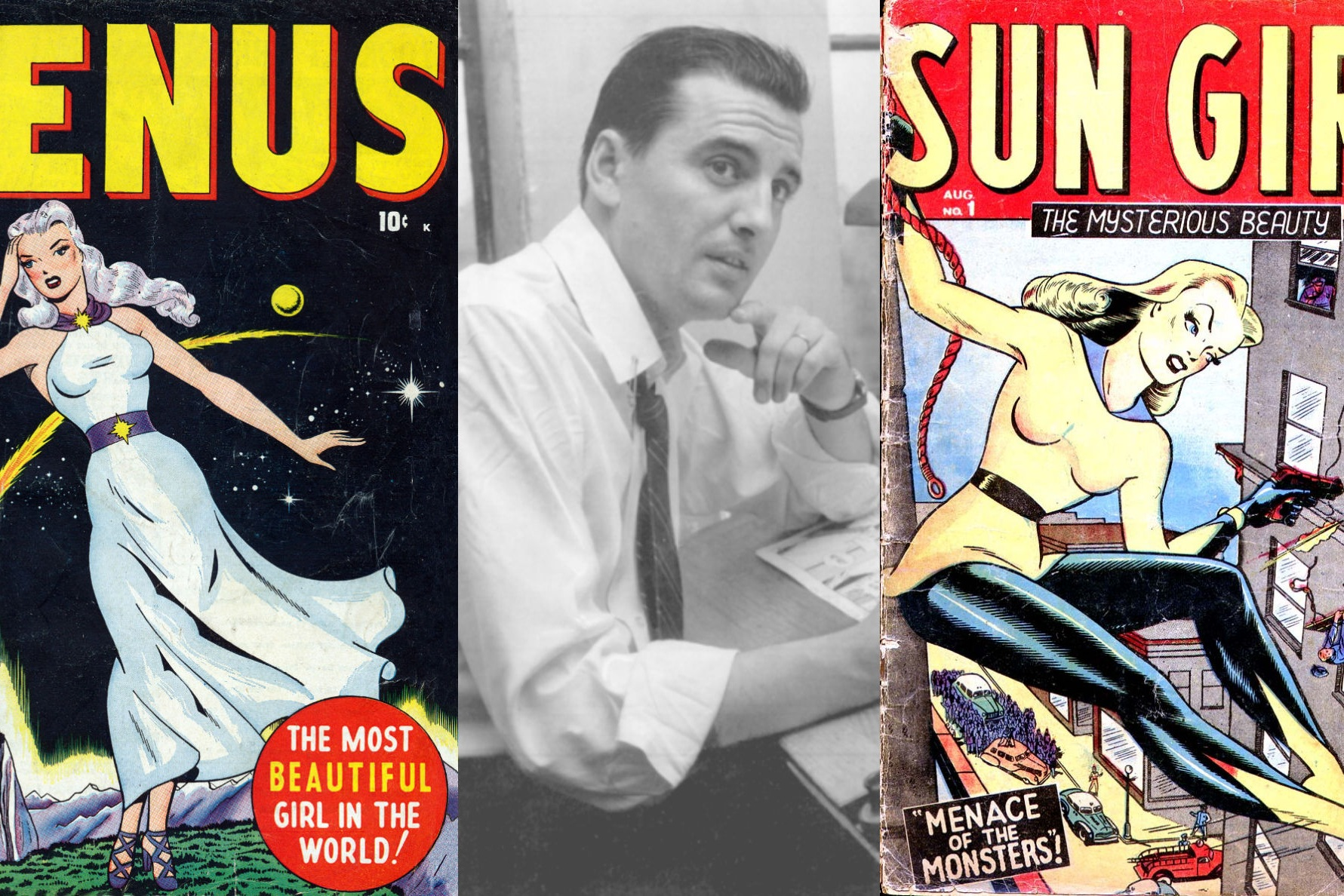 An Interview With Ken Bald - Golden Age Co-Creator of Namora & Sun Girl   Written by Bryan Stroud