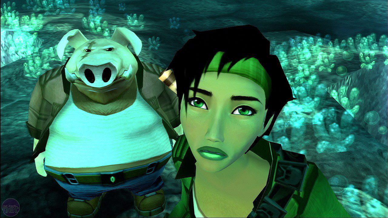 A screenshot from Beyond Good & Evil (2003)