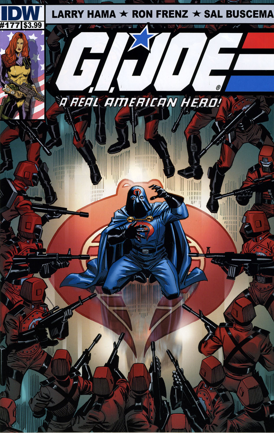 G.I. Joe_ A Real American Hero (1982) #177, cover penciled by Ron Frenz & inked by Sal Buscema.