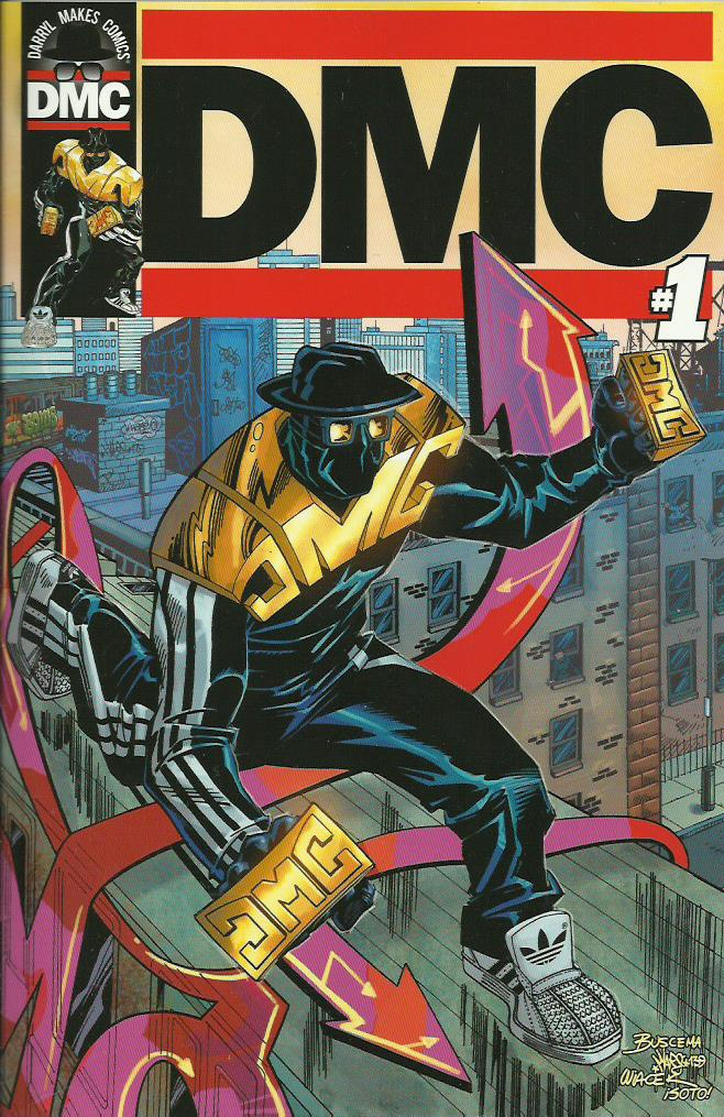 DMC (2014) #1, cover penciled by Sal Buscema & inked by Bob Wiacek.