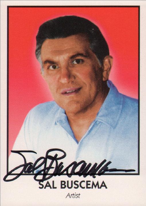 Sal Buscema 1992 Creator Trading Card (signed)