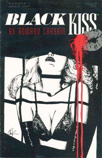 Black Kiss (1988) #1 by Howard Chaykin.