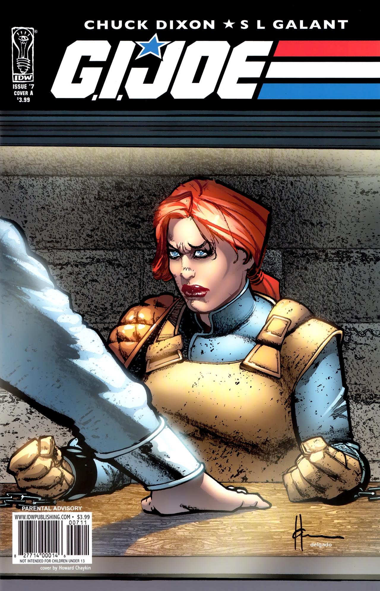 G.I. Joe (2008) #7, cover by Howard Chaykin.