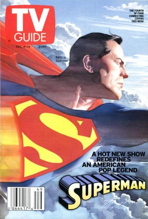 TV Guide, Dec.8-14, 2001, cover by Alex Ross.