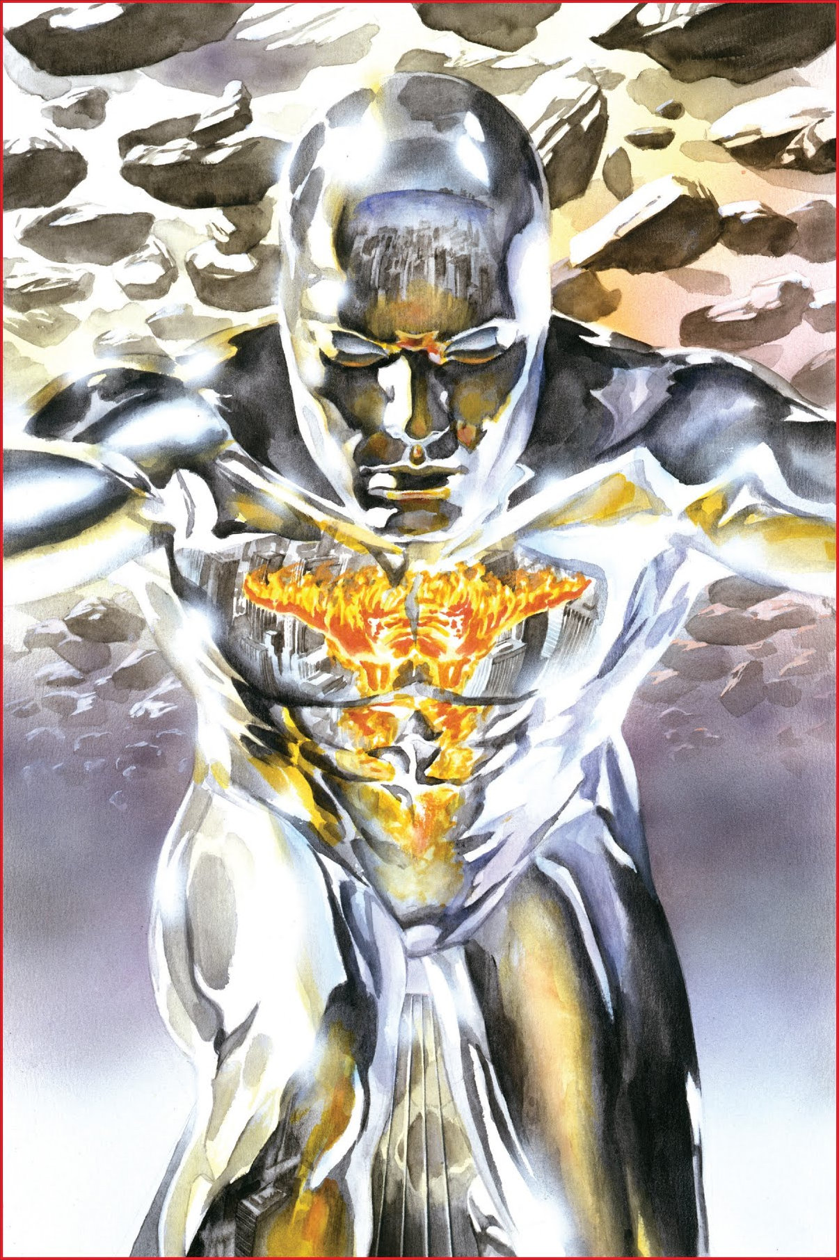 Marvels (1994) #3, cover by Alex Ross.