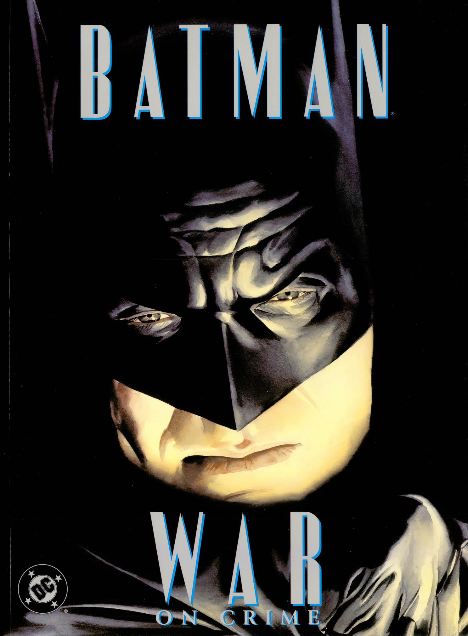Batman: War On Crime (1999) #1, cover by Alex Ross.