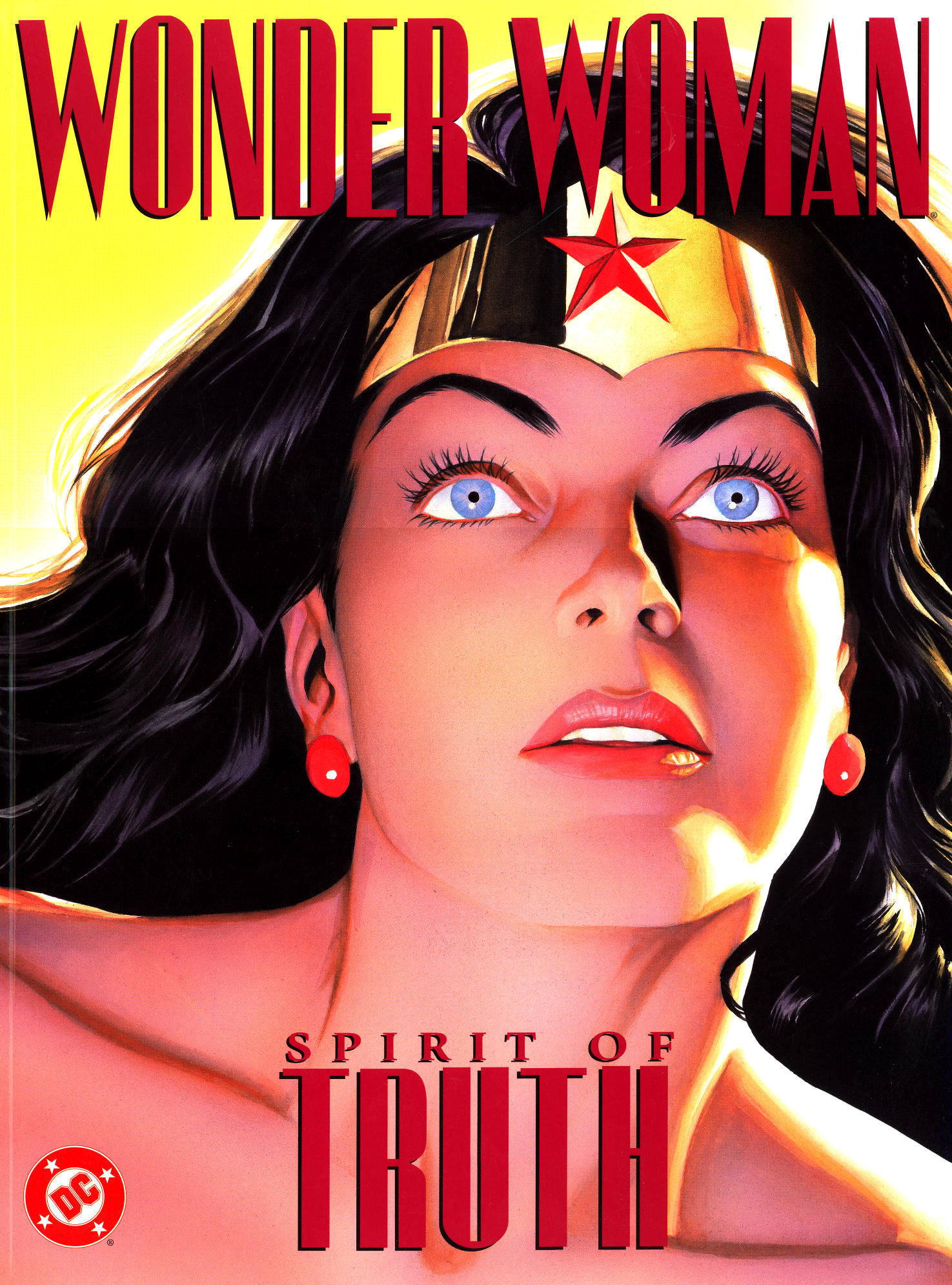 Wonder Woman: Spirit Of Truth (2001) #1, cover by Alex Ross.