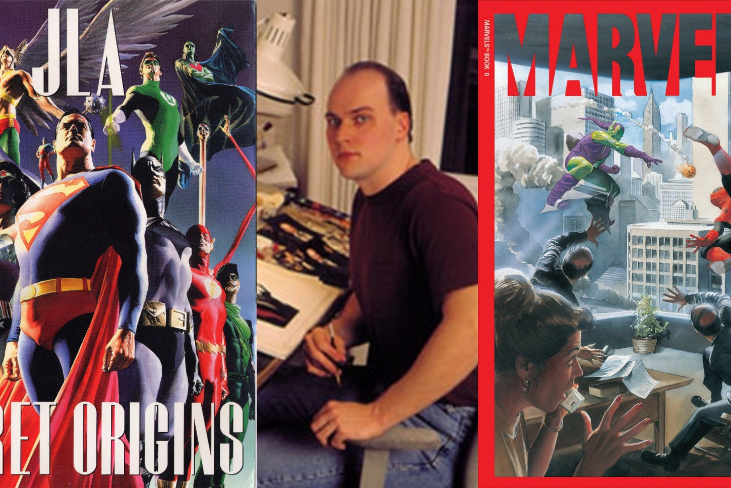 An Interview With Alex Ross - Martian Manhunter and Other Influences   Written by Bryan Stroud