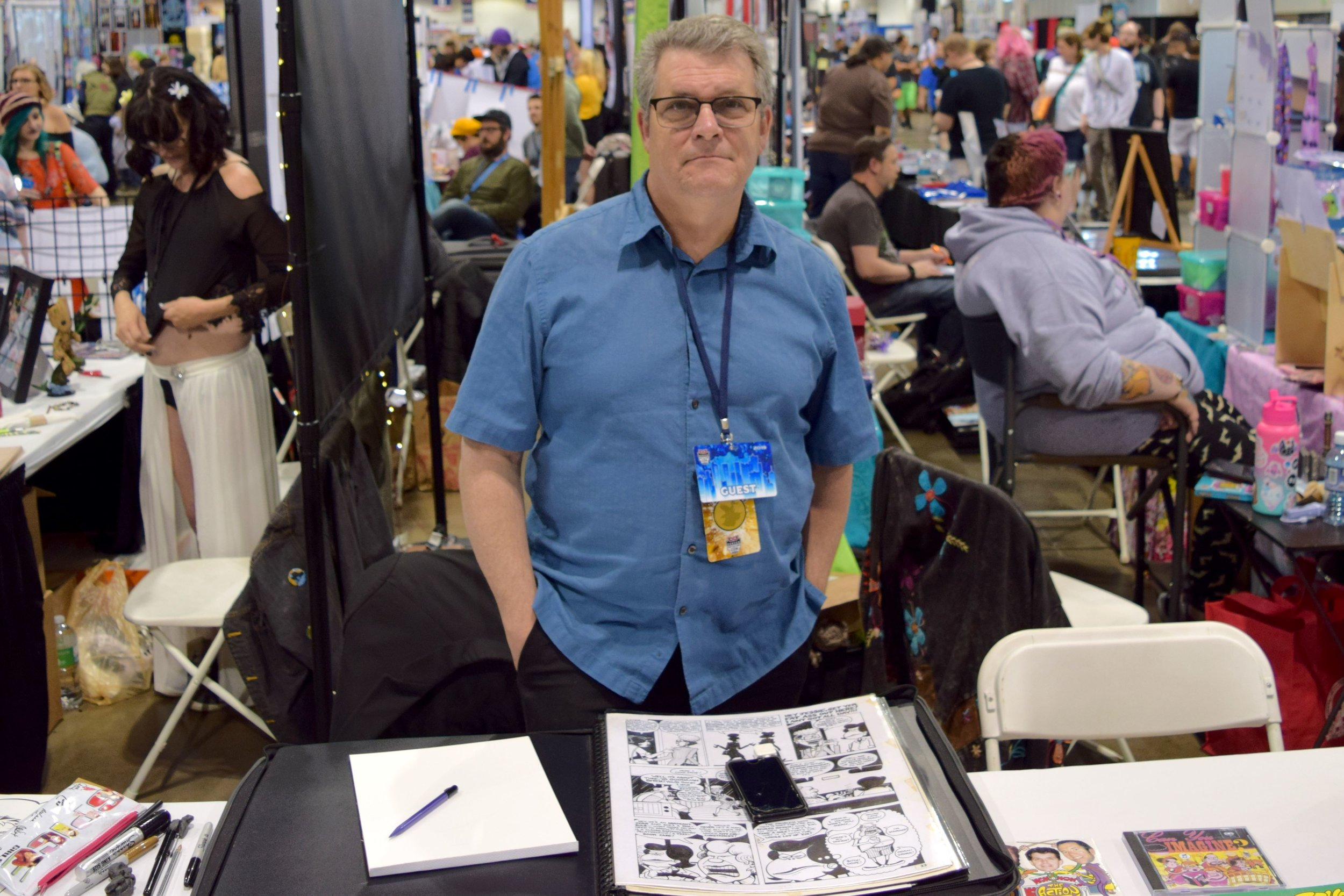 Peter Bagge in Denver, June 2019.
