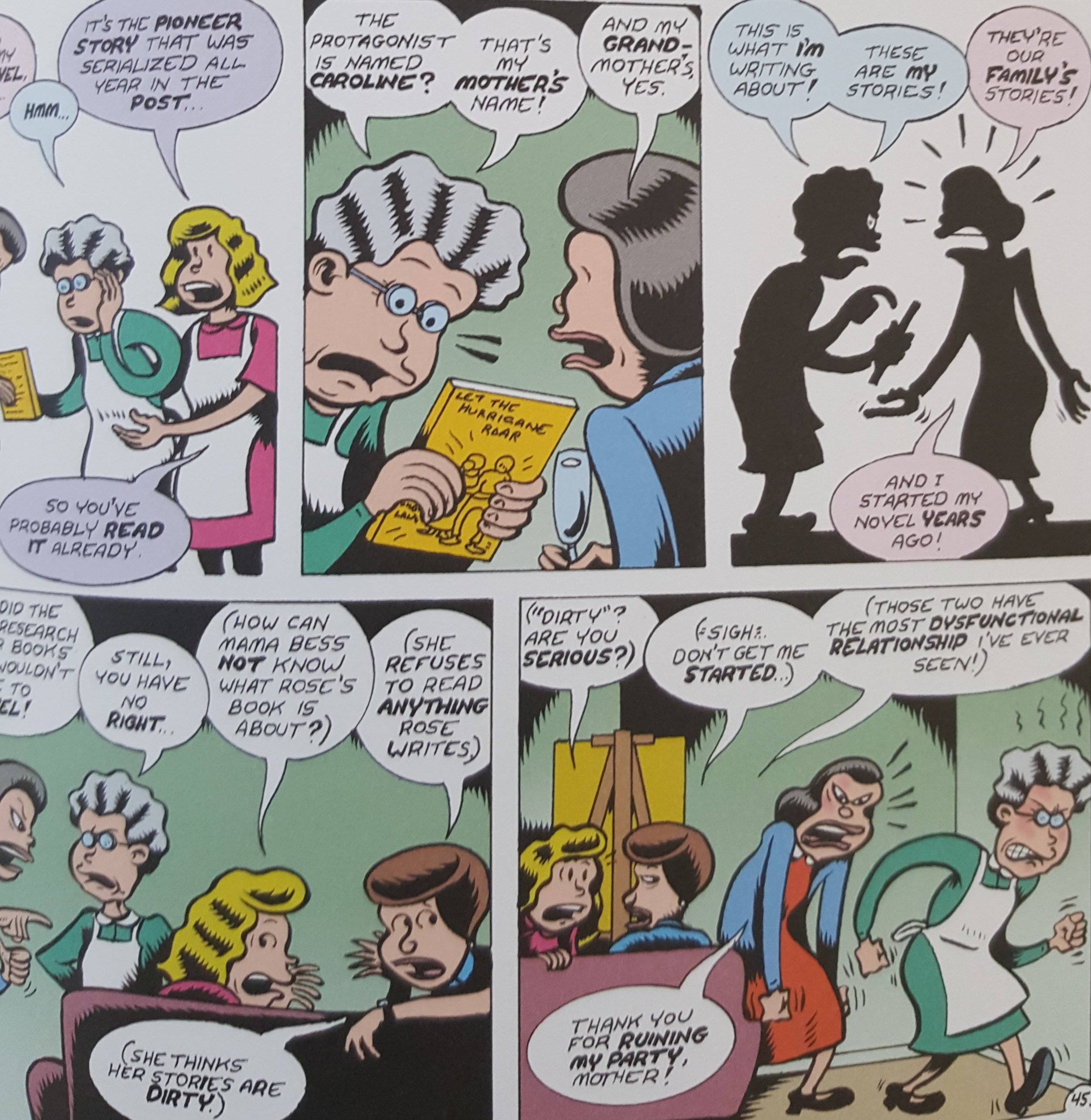 Credo: The Rose Wilder Lane Story (2019) p.45, by Peter Bagge.