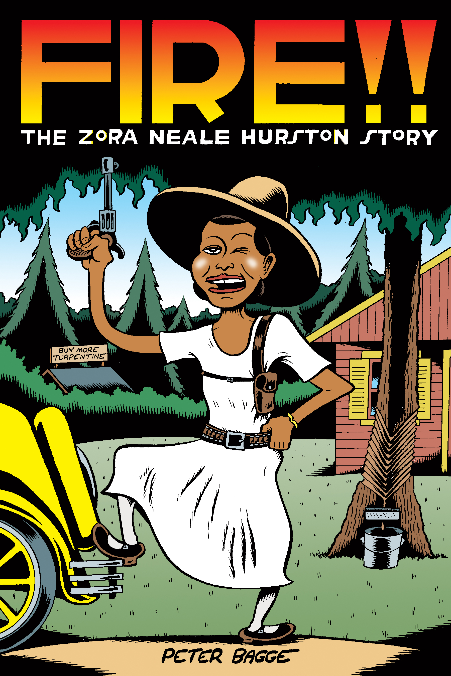 Fire: The Zora Neale Hurston Story (2017) by Peter Bagge.