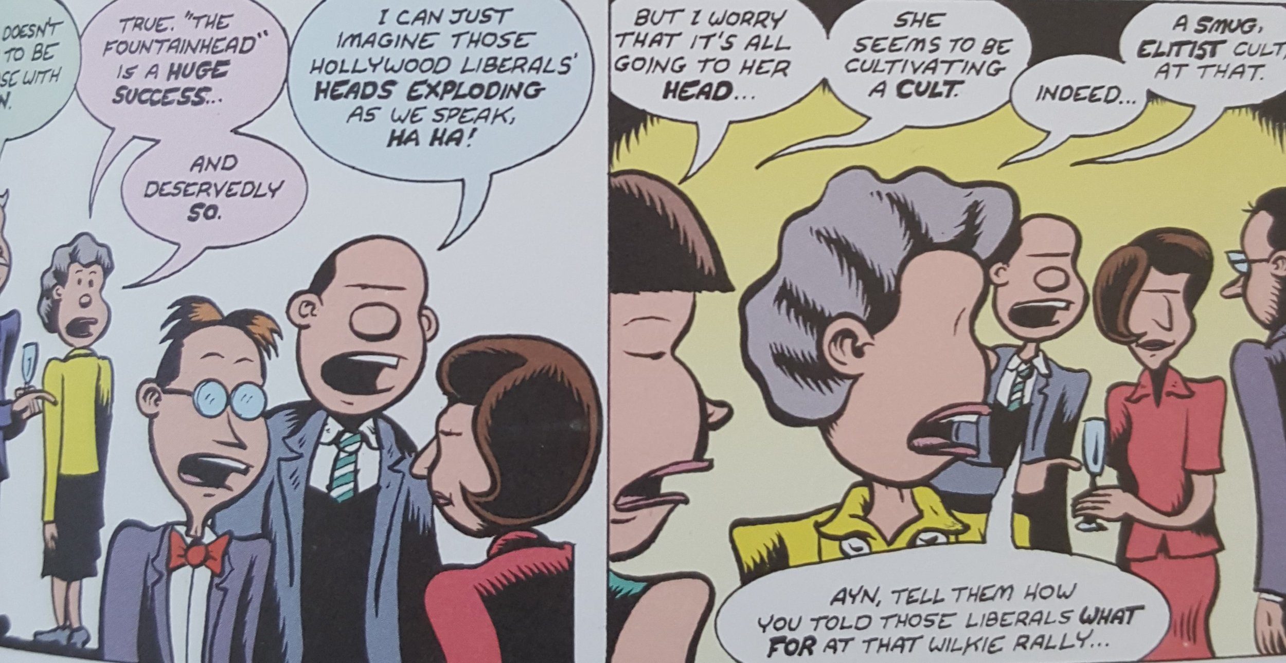 Credo: The Rose Wilder Lane Story (2019) p. 57, by Peter Bagge.