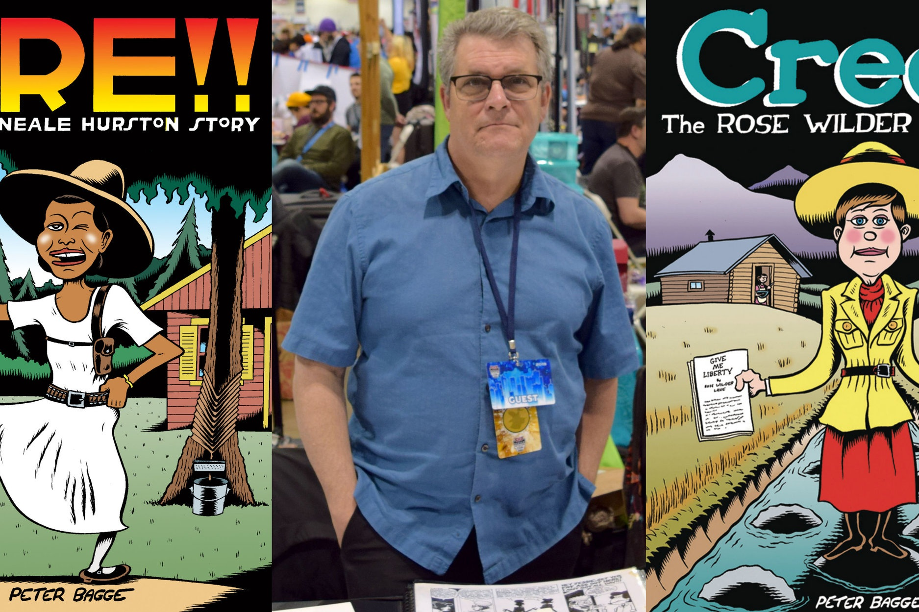 Peter Bagge Discusses Credo, Fire!! (and Maybe Just A Little Bit of Hate)   Written by Ross Webster