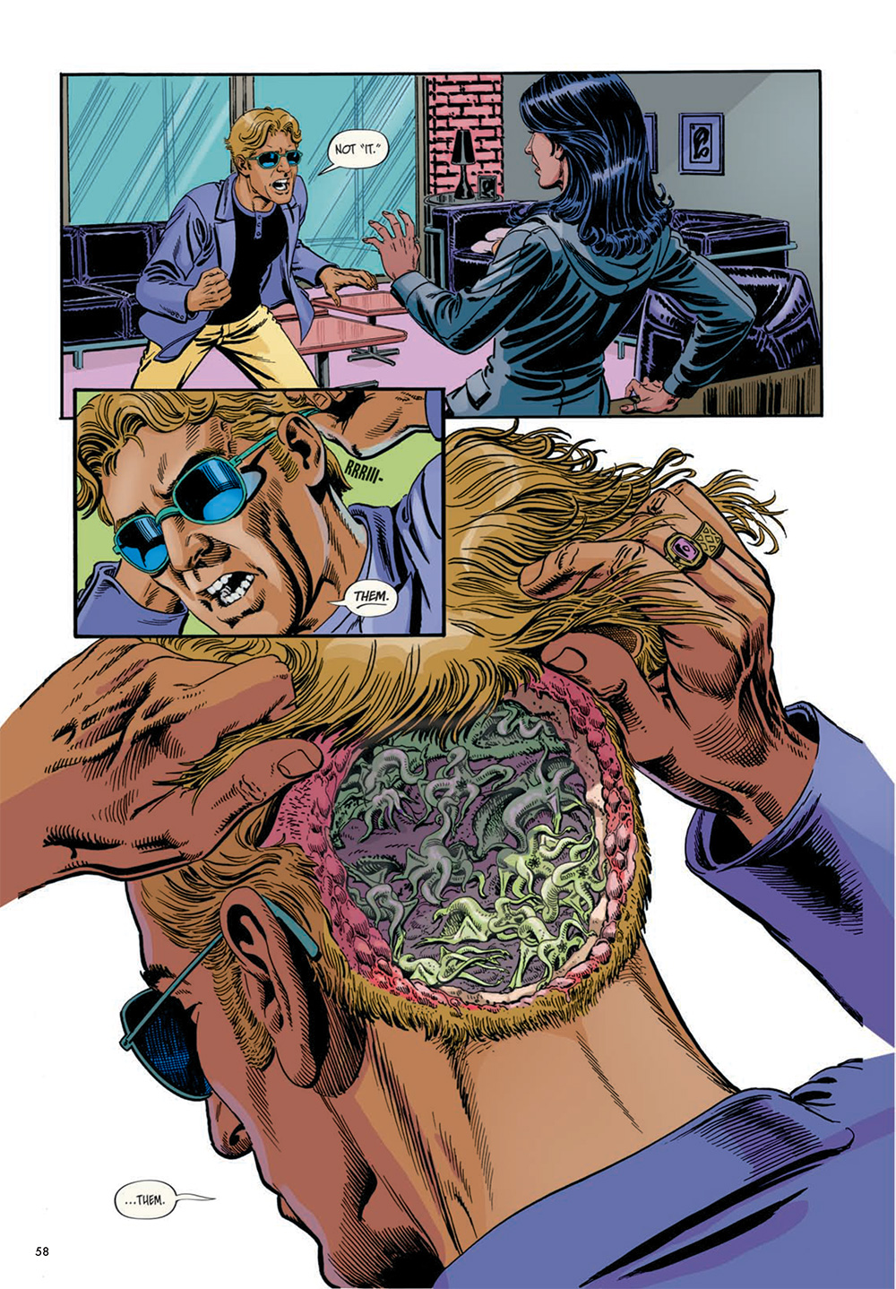 Lovecraftian lice.
